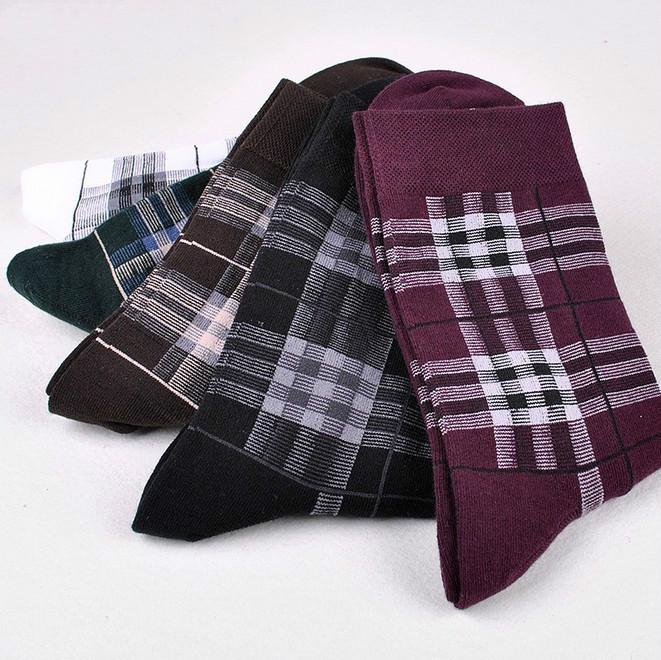 5pairs lot Autumn winter High quality British style Business socks Fashion cotton men s socks
