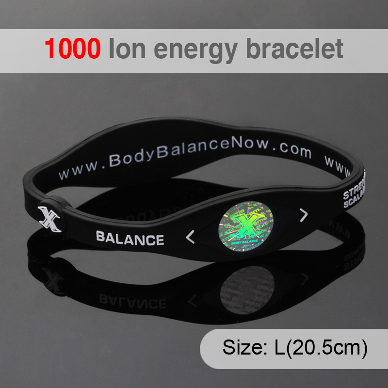Pulseras Pulseira Energy Bracelet Silicone Wristband Custom Cheap With Japan Technology Silicon Power Bracelets Men Bangles(China (Mainland))
