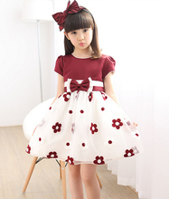 Buy Summer 2017 New Girl Dress Baby Princess TuTu Dresses Flower Girls Dresses Party Wedding Kids Clothes ropa de ninas for $11.68 in AliExpress store