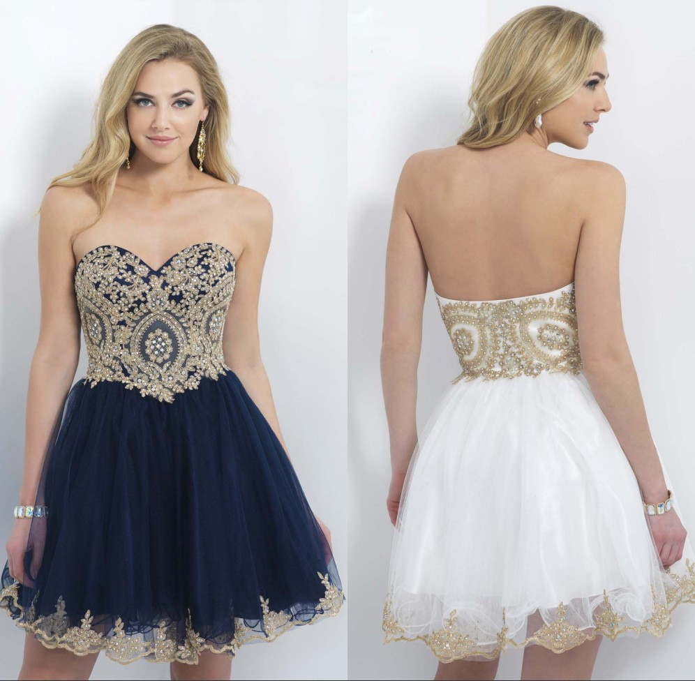 White 8Th Grade Graduation Dresses