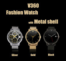 Smart Bluetooth V360 Watch Smartwatch with LED Display Barometer Waterproof Music Player Pedometer for Android IOS Mobile Phone