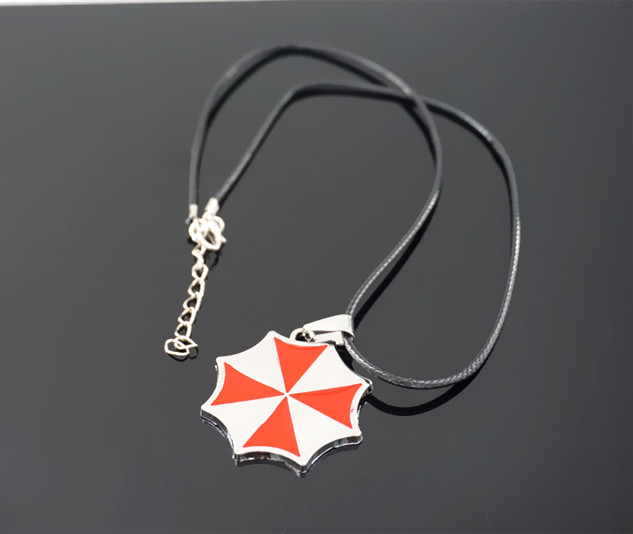 Hot Movie Resident Evil Umbrella Company Pendant&Necklace High Quality Personality Jewelry Christmas Gift(China (Mainland))