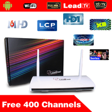 Leadcool Android Tv Box Android Iptv Box Android4.4 With 1 Year 400 + Arabic French Channels Canal Sport Android Set Top Box