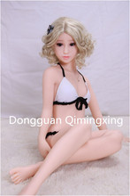 Buy 135cm Sex Dolls Real Silicone Cup Breast Skeleton Vagina Anal Realistic Love Dolls Small Breast Men