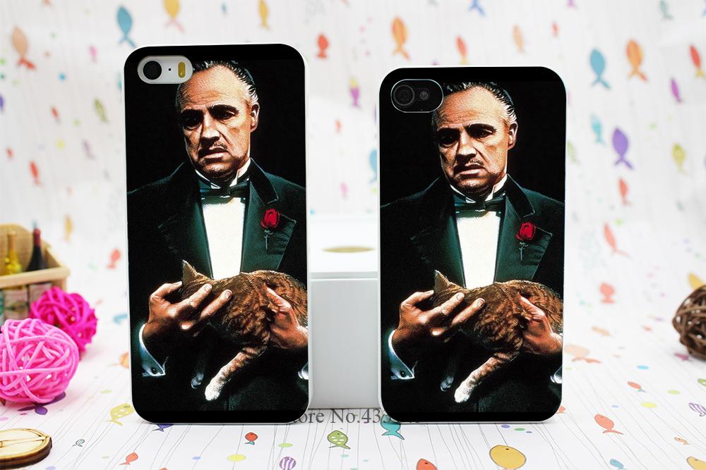 Vito Corleone godfather Style Hard White Skin Case Cover iPhone 5 5s 5g  -  Shenzhen ZhuoYou Technology Co.,LTD store
