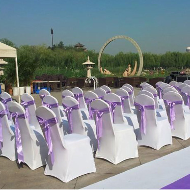 Wholesale Chair Covere For Hotel Wedding Celebration Banquet Dining Seatback Spandex Chairs Cover For Wedding Party(China (Mainland))