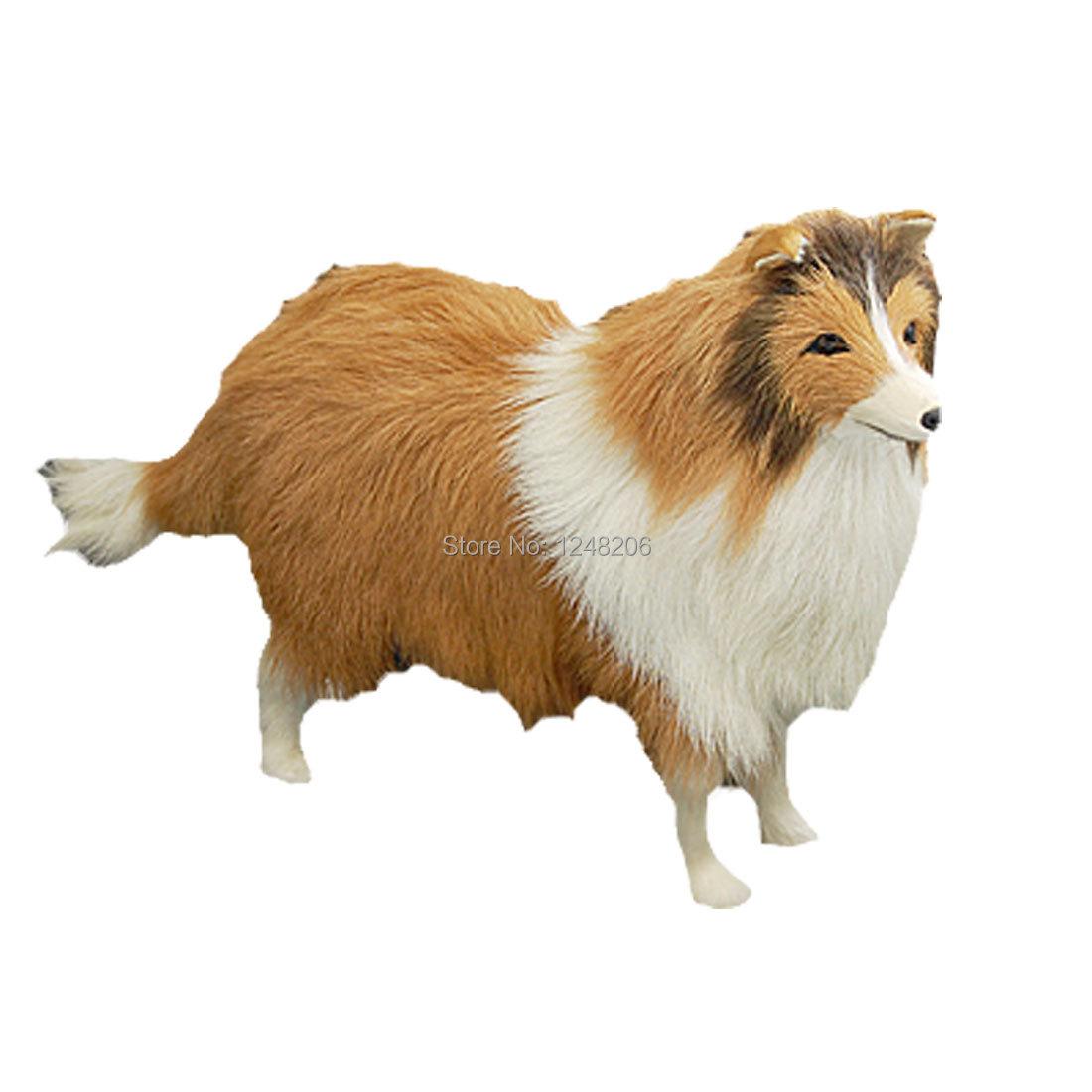 Scotland Sheepdog Animal Desk Decoration Craft Gift Discount 50(China (Mainland))