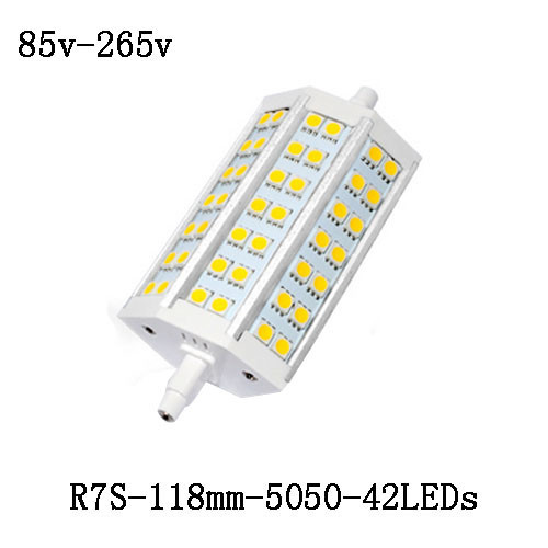 R7s led lamp smd 5730 5050 12w 20w 25w r7s 78mm 118mm led for R7s led 78mm 20w