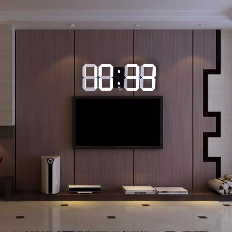 Compare prices on temperature wall clock online shoppingbuy low hot sale modern design 3d digital led wall clock big creative vintage watch home decoration decor amipublicfo Choice Image