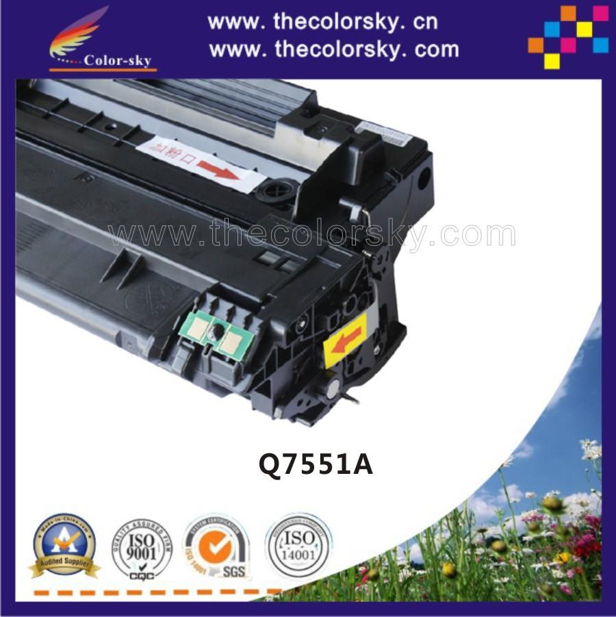 (CS-H7551A) toner laserjet printer laser cartridge for HP Q7551A 7551a 51a 3005 P3005 P3005d P3005dn P3005n P3005x 6.5k freedhl <br><br>Aliexpress