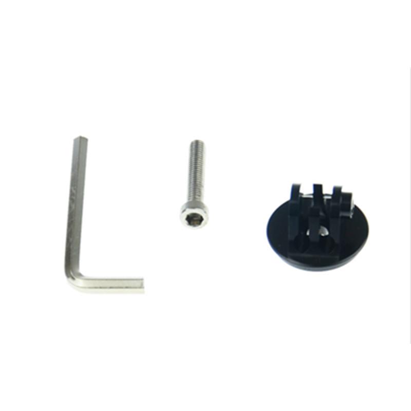 CNC Adapter Gopro Aluminum Bike Headset Mount Tripod Stainless Steel Screws for Gopro Hero 3 3+ 4 Xiaomi yi 4k Accessory