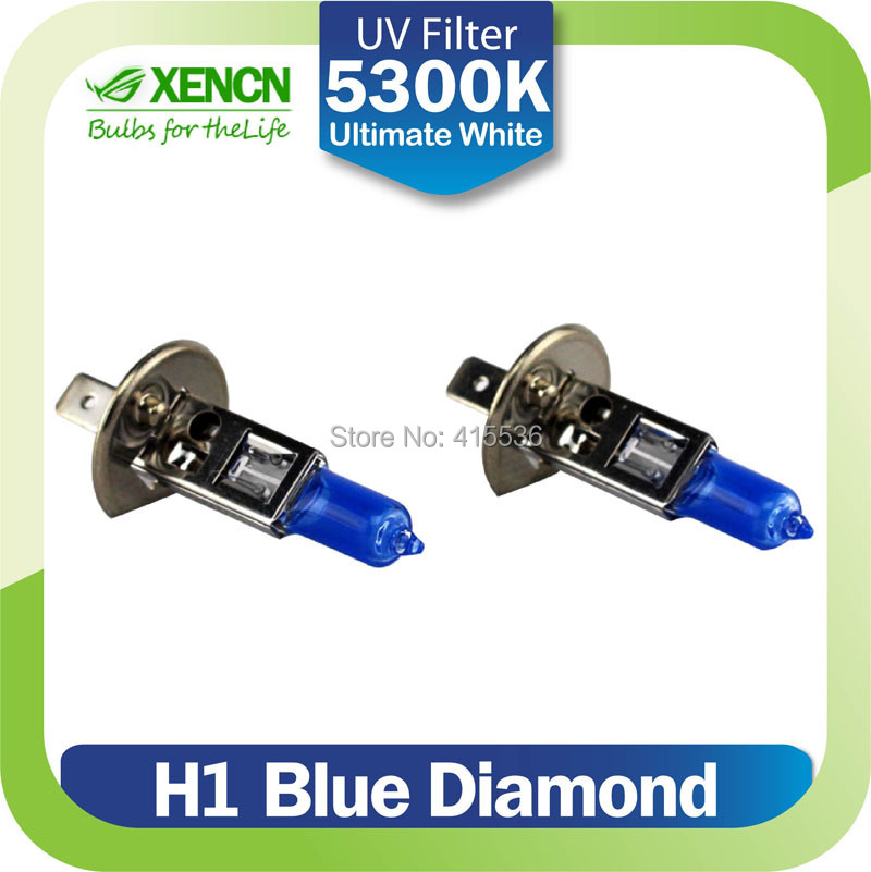 XENCN H1 12V 100W 5300K Xenon Blue Diamond Light Car Headlight Halogen Super White for citroen c5 vectra sorento insignia passat(China (Mainland))