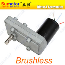 100FB DC 12V 24V Low speed High torque Plate Gear Box Metal Gear Reducer Brushless Motor reversible Electric curtain PTZ Camera(China (Mainland))