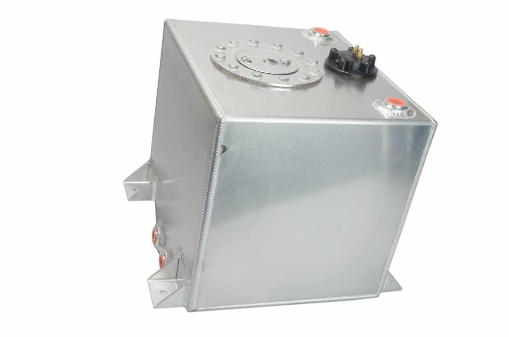 VR RACING-Race Alloy Fuel Tank 5 Gallon w/ Sender Racing Cap FOAM 20L / Boat Fuel Tank VR-KI03501S
