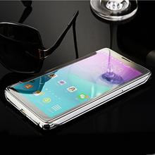 For Samsung Galaxy Note 4 Case Luxury Mirror PU Leather Smart Flip Cover Case for Samsung Note 4 Phone Fundas Coque Capa(China (Mainland))