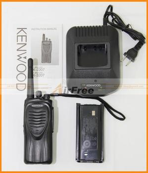 Holiday Sale FREE SHIPPING 100% BRAND NEW KENWOOD TK3207 TK-3207 UHF FM Radio Transceiver with Battery & Charger 2sets/lot 326