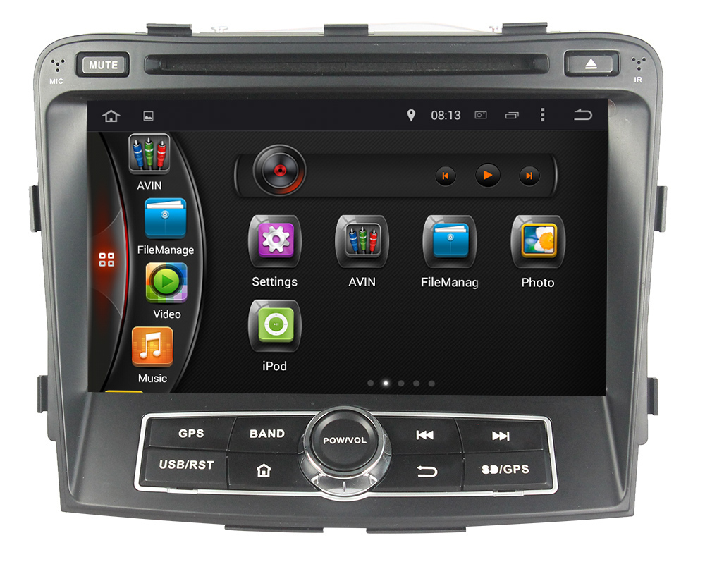 7 inch 2 din android 4 4 touch screen auto radio car radio. Black Bedroom Furniture Sets. Home Design Ideas
