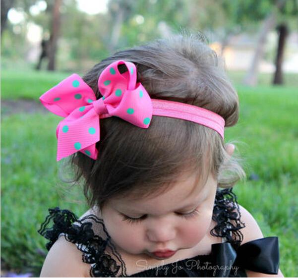 Шифон цветы дети девочки аксессуары для волос резинками заколки девушка головные ...