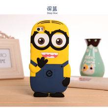 Cute 3D Cartoon Monsters University DESPICABLE ME 2 Yellow Minion Soft Silicon Case Xiaomi Mi Note Pro Skin Cover - Amy Guo's store