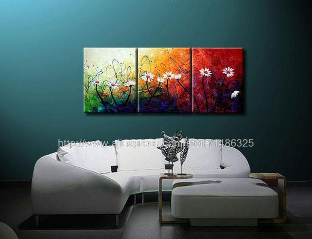 aphrodite 39 s garden oil painting on canvas wall decor oils artwork 3 panel 3 pcs set wall art. Black Bedroom Furniture Sets. Home Design Ideas