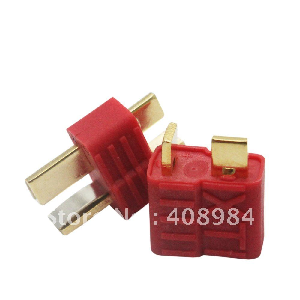 Anti-skid  XT  T Plug Dean Connector For ESC Battery Male And Female 10pair