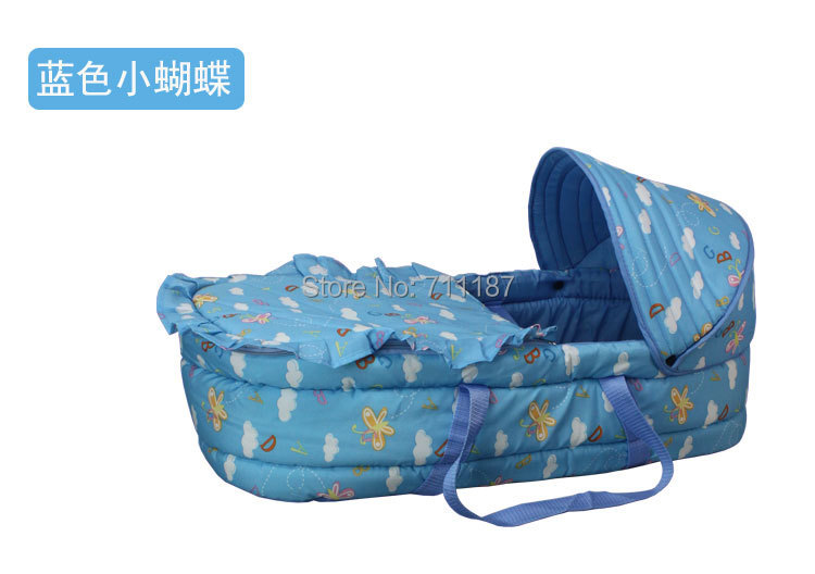 New Fashion Baby Bassinets Cosy Portable Infant Bed Carrier Travel Bed Baby bed in Bed Brand High quality Baby Bassinets <br><br>Aliexpress