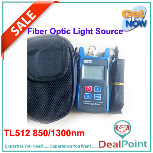 TL512 850/1300nm Multimode Handheld Mini Laser Source Fiber Optical Light Source(China (Mainland))
