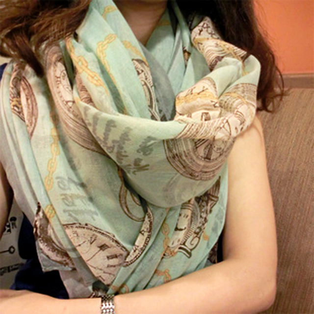 Fashion ultra long big Shawl Wrap female fluid clocks scarf air conditioning cape dual silk scarf free shipping