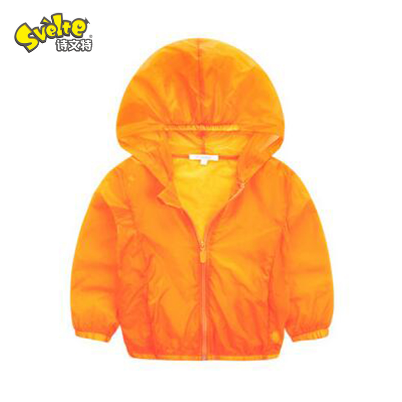 Summer Children's Clothing Baby Candy Color Sunscreen Coat(China (Mainland))