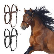 High Quality Horse Bridle Horses Equestrian Woven Belt Leather Headstall Racing Riding Competitions Farm Animals Halters(China (Mainland))