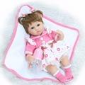 Lifelike Reborn Baby Doll Realistic Soft silicone Reborn Babies Girl 18 Inch Adorable Bebe Kids Brinquedos