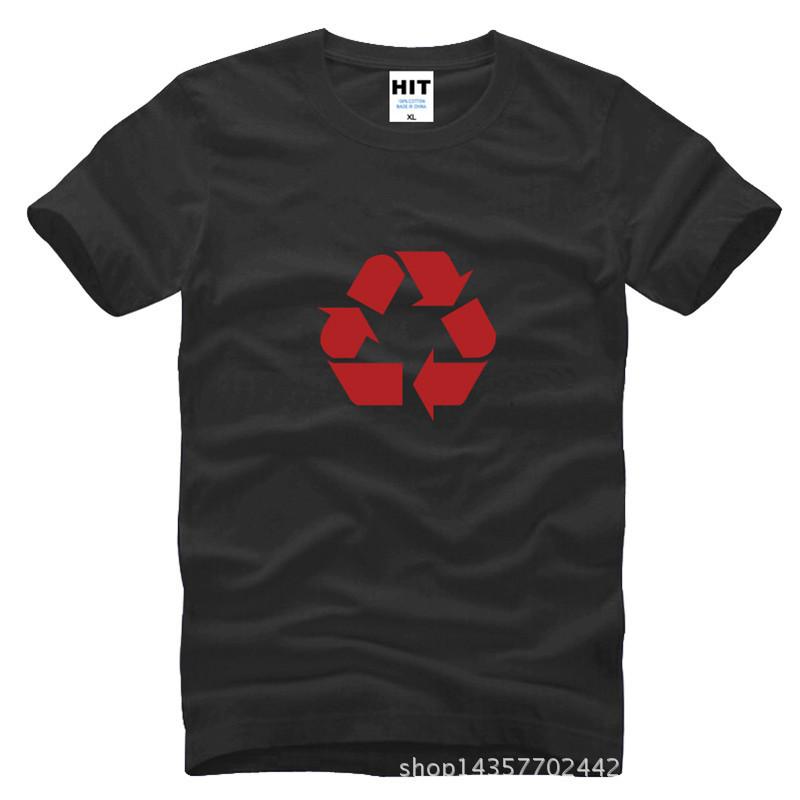The Big Bang Theory Classic Recycling LOGO Printed Mens Men T Shirt Tshirt 2015 New O Neck Cotton T-shirt Tee Camisetas Hombre(China (Mainland))