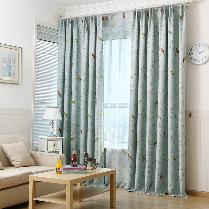 Compare Prices On Bird Print Curtains- Online Shopping/Buy