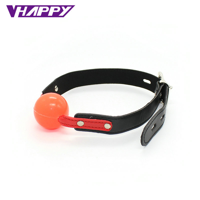 10 pcs/lot  PU Leather Solid material Sexy Harness Mouth Hollow Rubber Red  Ball Plug Sex Product For Womens  VP-Mg004023B<br><br>Aliexpress