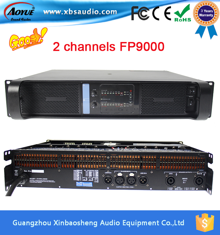 lab gruppen 2CH fp9000 pa power amplifier dj equipment with 3 years warranty(China (Mainland))