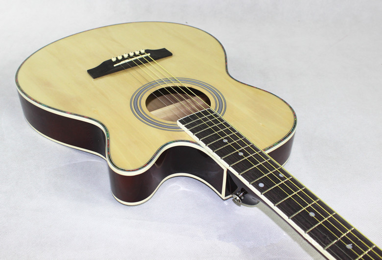 2015 NEW guitars 40-7  40 inch high quality Acoustic Guitar Rosewood Fingerboard guitarra with guitar strings<br><br>Aliexpress