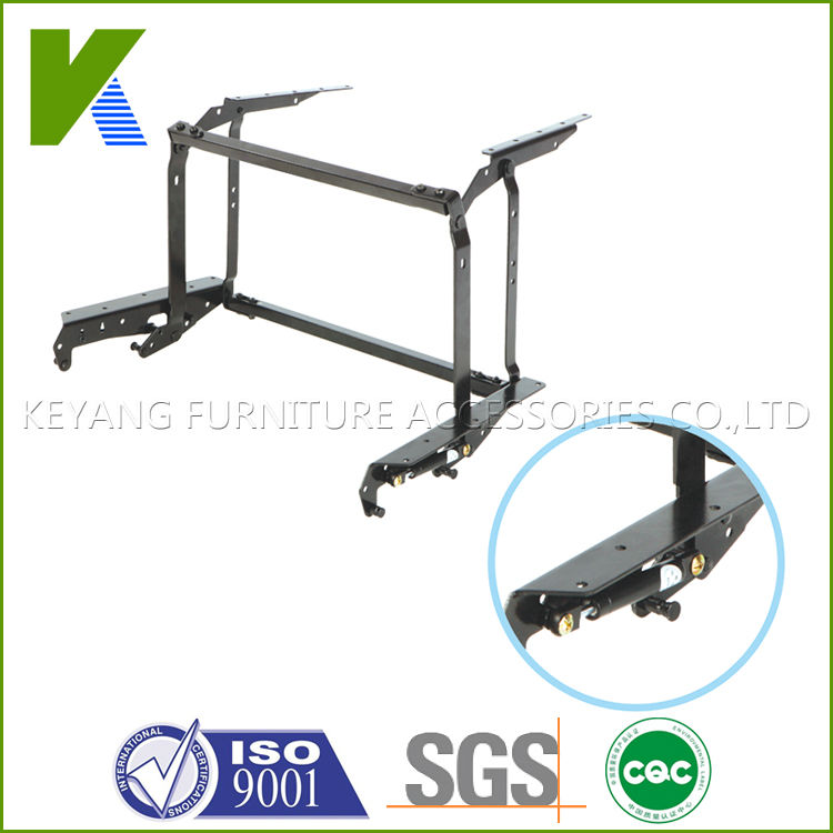 extendable coffee table mechanism/hinge/frame with air pump KYD003(China (Mainland))