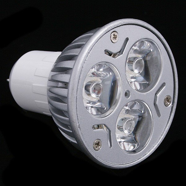5pcs/lot LED Spotlight  Lamp GU5.3 85-265V 3W 270LM Warm White/Whire LED GU 5.3 Bulb Spot light  Free Shipping<br><br>Aliexpress