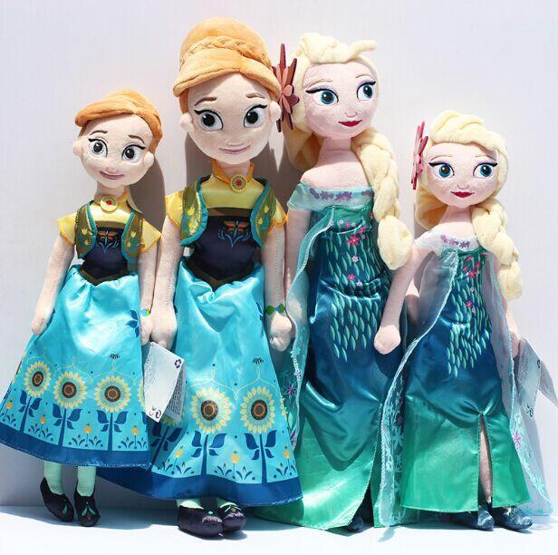 New Arrival Fever 40cm 50cm Boneca Doll Princess Elsa Anna Dolls for Girls Toys Christmas Gift 20cm Olaf Sven Plush Toy<br><br>Aliexpress