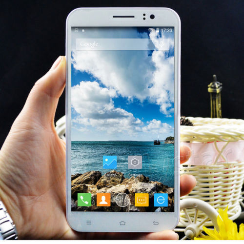 5.5'' Android 4.4 unlocked 2Core Dual Sim Smartphone GPS/3G Cellphone T-Mobile(China (Mainland))