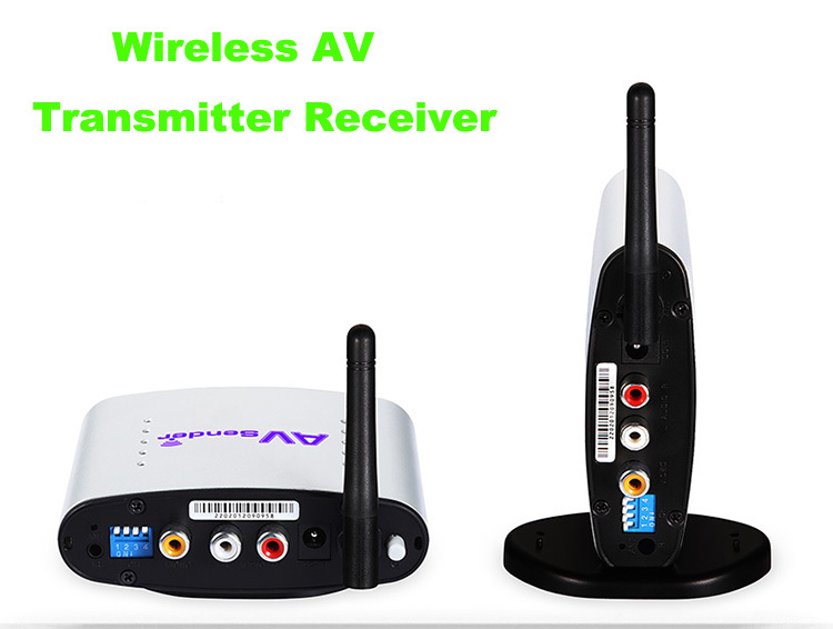 2.4GHz PAT-330 150m Wireless AV Sender TV Audio Video Transmitter Receiver(China (Mainland))