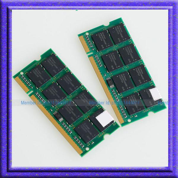 Full Test !! 2GB 2x1GB PC3200 DDR400 200PIN SODIMM ddr 2G 400Mhz Laptop Notebook MEMORY 200-pin SO-DIMM RAM Free shipping !!!(China (Mainland))