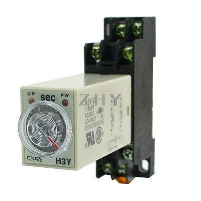Knob Control AC110V 8P DPDT 5s Seconds Timer Time Delay Relay w Socket(China (Mainland))