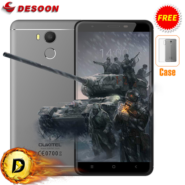 "Free Case 5.5"" OUKITEL U15 PRO Mobile phone Android 6.0 MT6753 Octa Core 3GB+32GB 16MP 3000mAh OTG 4G Fingerprint SmartPhone"