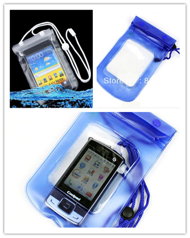 for Samsung S6802 i8190 GALAXY S3 mini Galaxy Y Duos S6102 Mobile Phone Waterproof Dry Bag Case Transparent With Scrub()