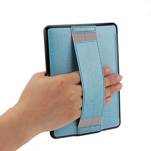 Ultra thin protective shell skin PU leather cove case for Amazon Kindle Paperwhite 1 2/paperwhite3(New model)+free stylus+film(China (Mainland))