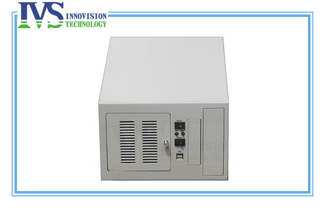 Фотография Compact wallmounted chassis IPC2406C industrial computer case supporting 6slot industrial ISA backplane