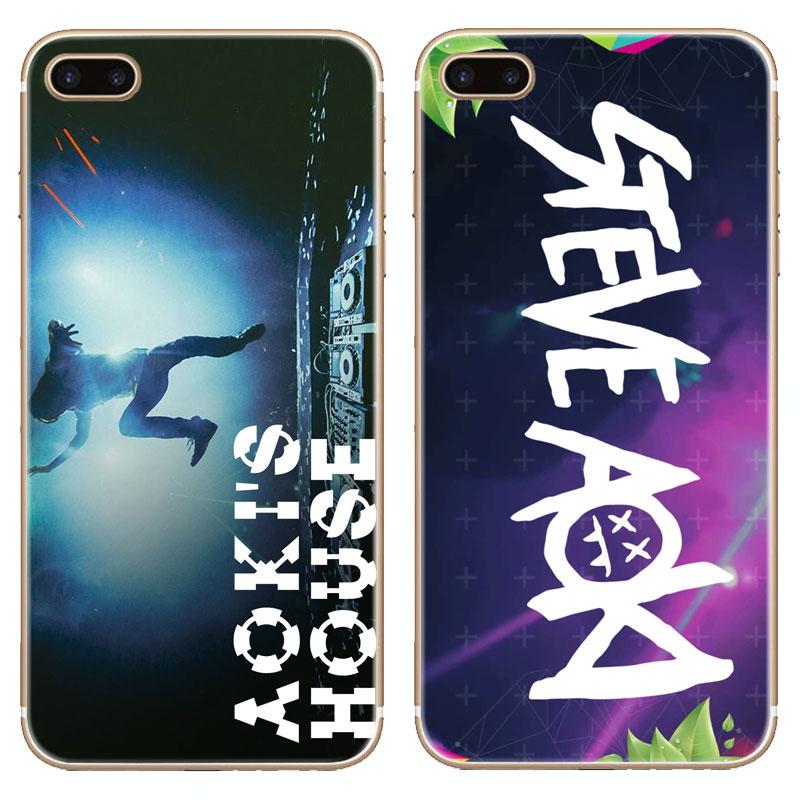 H262 Steve Aoki Transparent Hard Thin Case Cover For Apple iPhone 4 4S 5 5S SE 5C 6 6S 7 8 X Plus