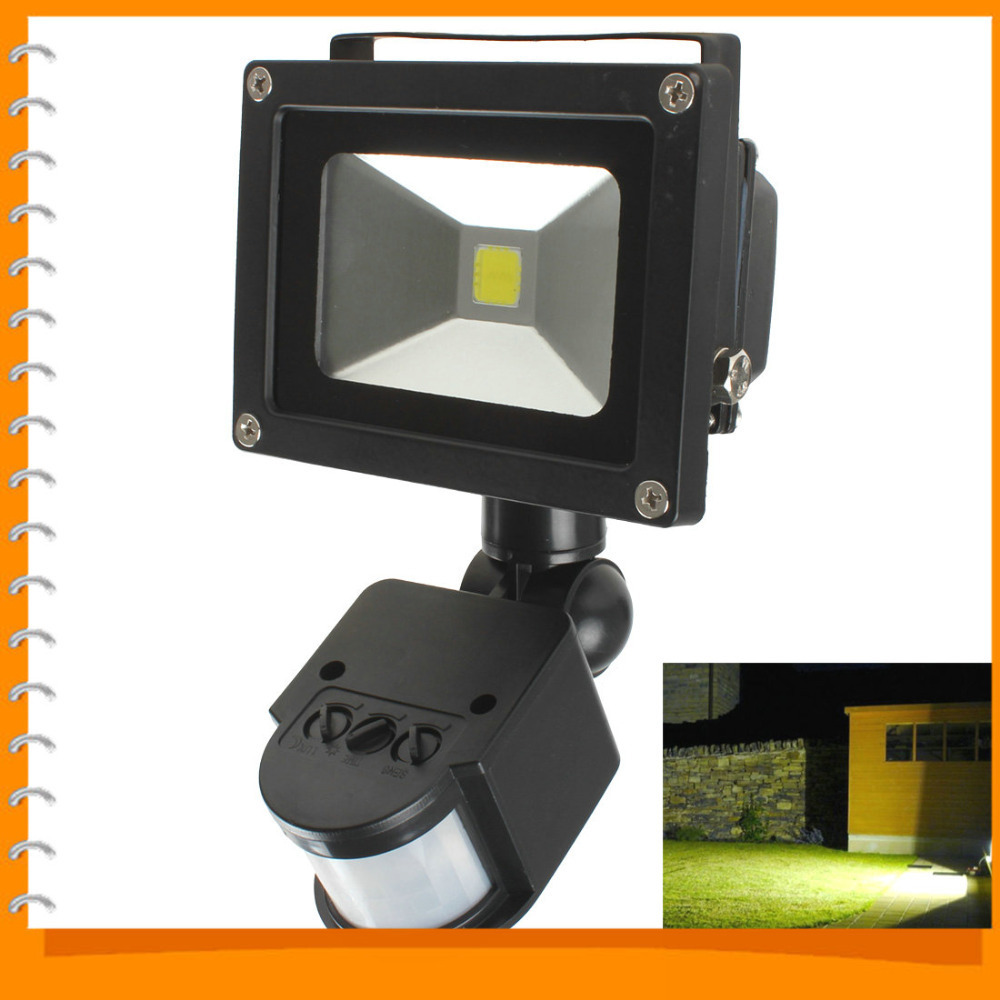 20W PIR Infrared Body LED Motion Sensor Flood Light Floodlight AC 85-265V Waterproof Outdoor LED Landscape Lamp<br><br>Aliexpress