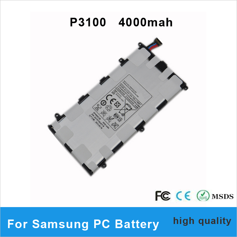 1 pcs sp4960c3b 4000mah original replacement battery for samsung galaxy tab 2 7 0 p3100 p6200. Black Bedroom Furniture Sets. Home Design Ideas
